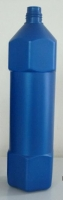 Blue pencil bottle